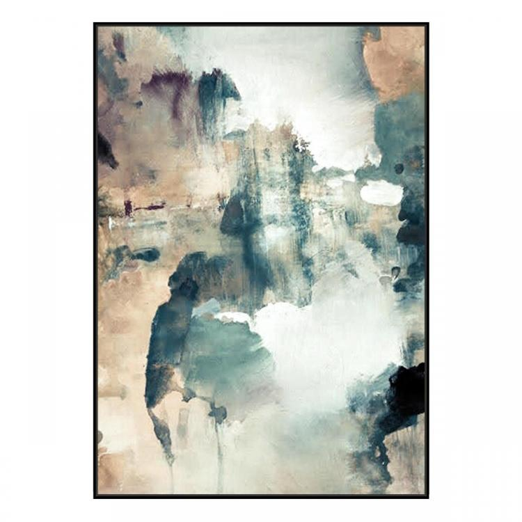 Arco Blanco - Painting - Black Floating Frame (Clearance)