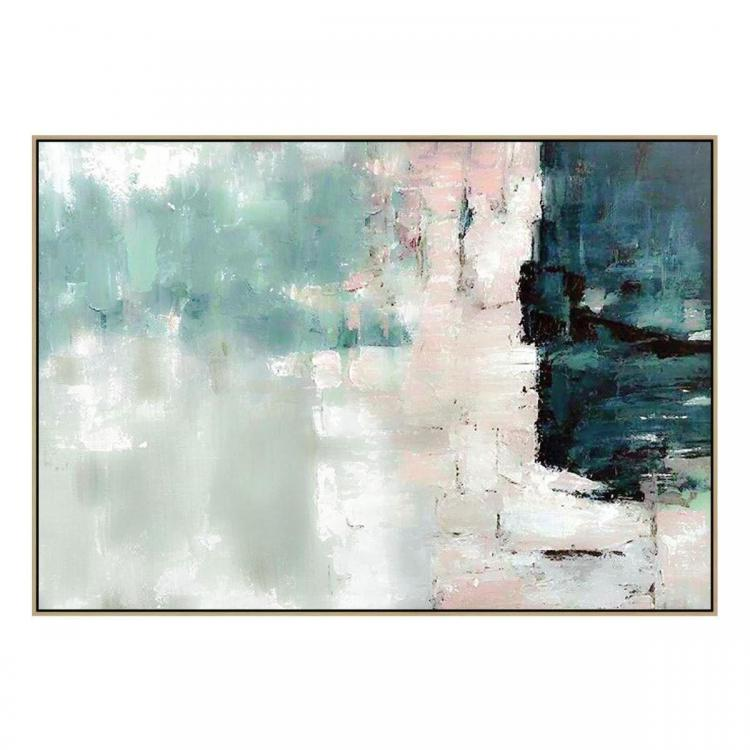 Amore Santo - Painting - Natural Floating Frame (Clearance)