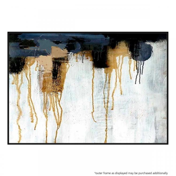 Gold Resource - Painting - Black Floating Frame (Clearance)