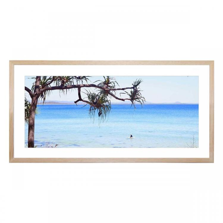 A Place To Chill - Framed Print - Natural Frame
