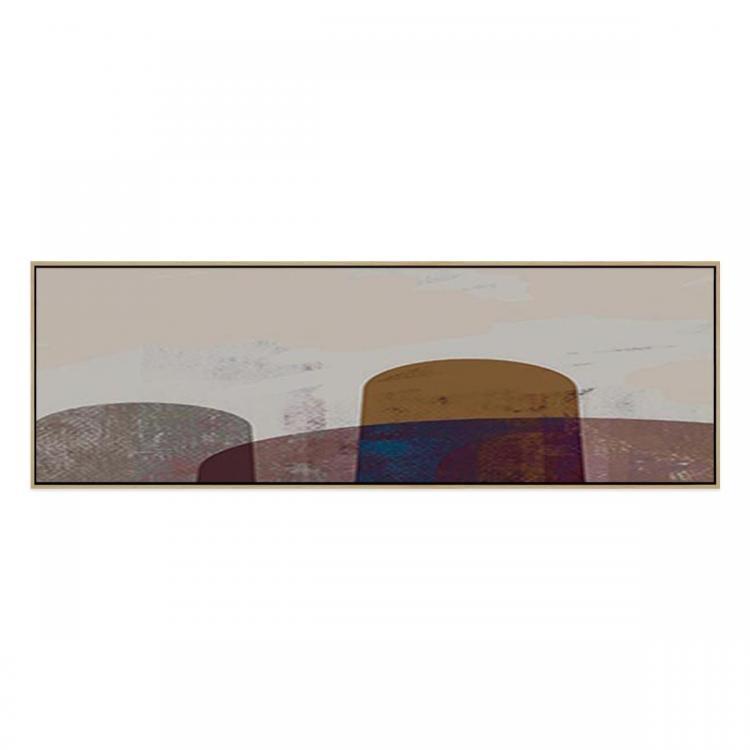 IC Rock Pole - Framed Print - Natural Frame