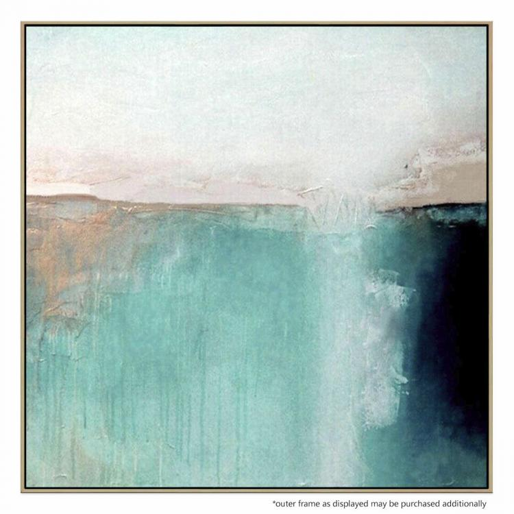A Sea Beyond - Painting
