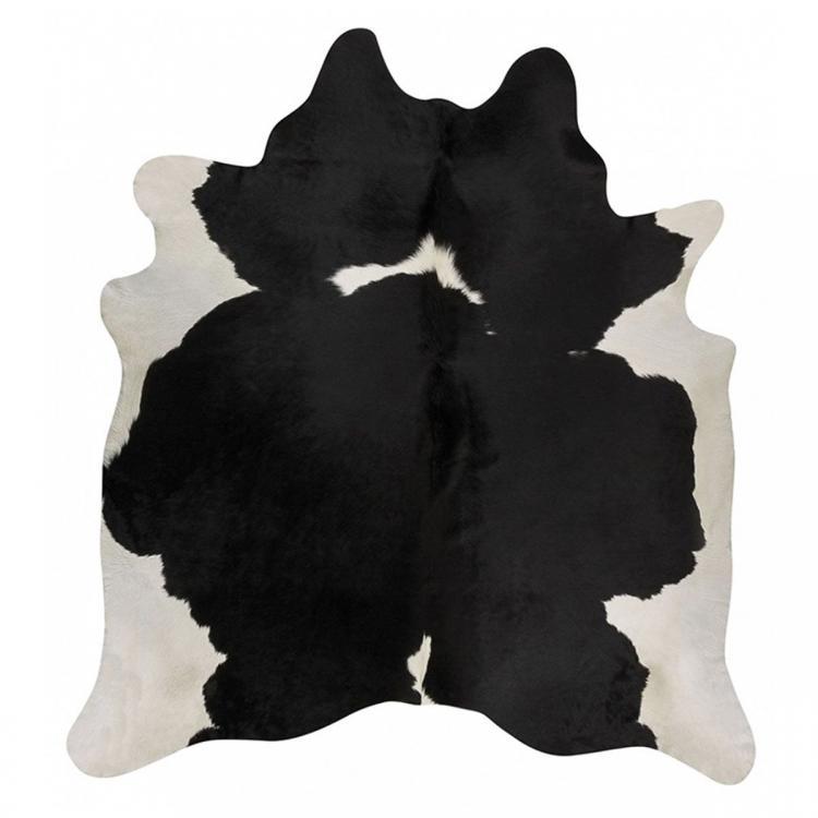 Premium Brazilian Cowhide - Black & White