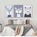 Douglas the Deer | Freddy the Fox | Teddy the Bear