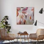 Girando - Painting - Natural Floating Frame