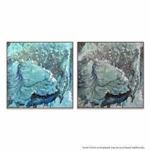 Temporale 1 | Temporale 2 - Painting