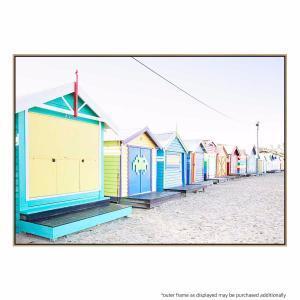 Beach Hut - Print