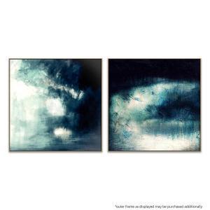 Blue Horizons |Moon Strike - Painting