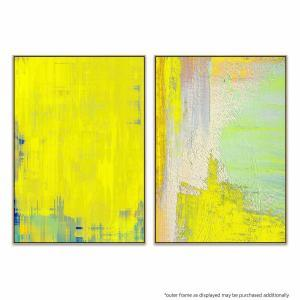 Ballo Giallo - Yellow Shot - Print