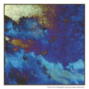 Blue Paper Clouds - Print