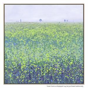 Dusky Fields - Painting