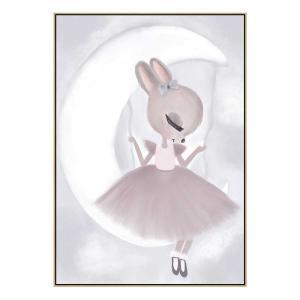 Mia Swinging In The Clouds - Print