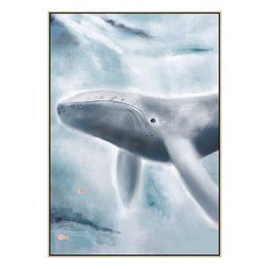 Wilber The Whale - Print