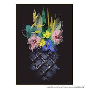 Pineapple Flowers - Print