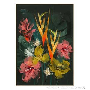 Tropical Flowers - Print