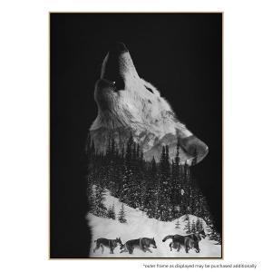 Howling Wolf - Print