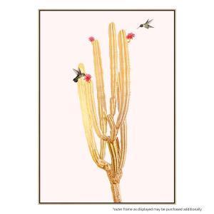 Golden Cactus 2 - Print