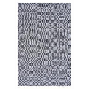 Herman Diamond Rug - Navy Blue