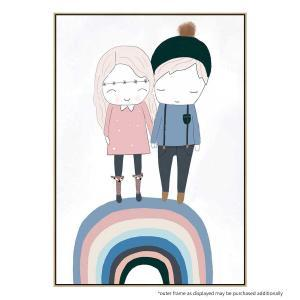 Sibling Love - Print