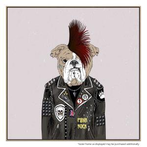 Punk Rock Dog - Print