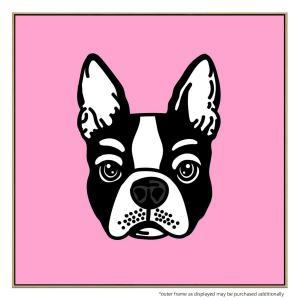 Pink Frenchie - Print