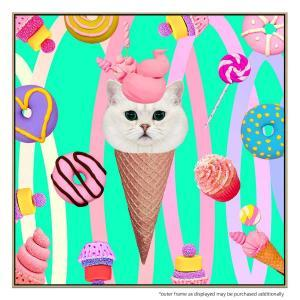 Coney Cat - Print