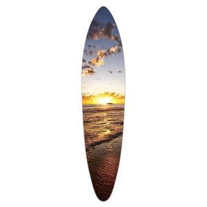 Cloudy Sunset - Acrylic Surfboard