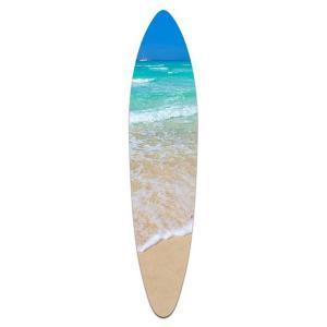 Crystal Waters 2 - Acrylic Surfboard