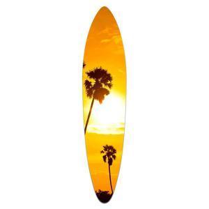 Golden Haze - Acrylic Surfboard