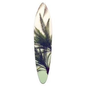 Grassy Palm - Acrylic Surfboard