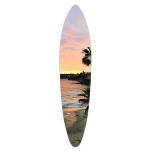 Laguna Beach Sunset - Acrylic Surfboard
