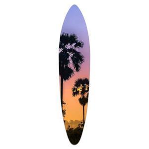 Pastel Skies - Acrylic Surfboard