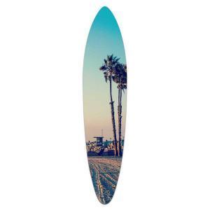 Sunset In Newport - Acrylic Surfboard