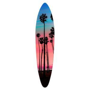 Tranquil Gaze - Acrylic Surfboard