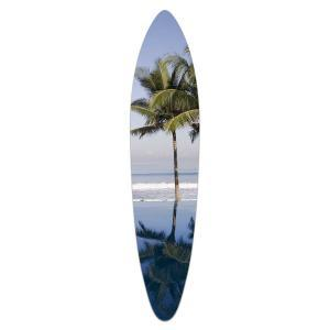 Tropical Beach - Acrylic Surfboard