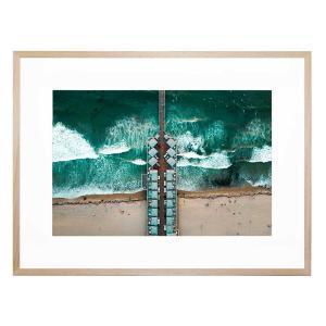 Above Expectations - Framed Print - Natural Frame - ONE ONLY