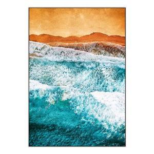 Tropical VI - Canvas Print - White Frame - ONE ONLY