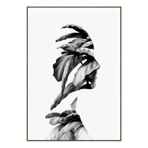 Flourish - Canvas Print - Natural Frame - ONE ONLY