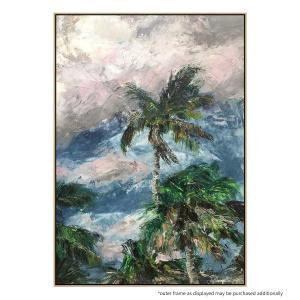 Windswept Palms - Print