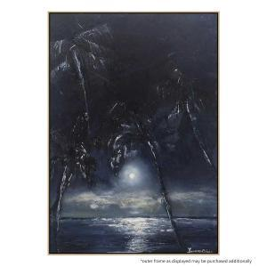 Moonlit Palms - Print