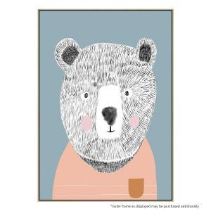 Teddy The Bear 2  - Print