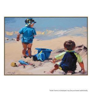 Sand Play II - Print