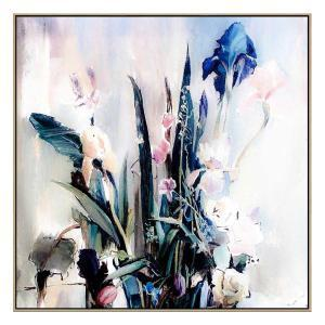 Bouquet D'India - Canvas Print - Natural Frame - ONE ONLY