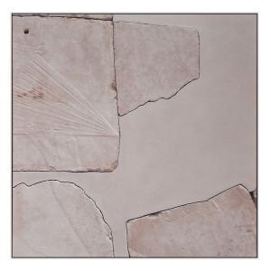 Rose Quartz - Canvas Print - White Frame - ONE ONLY