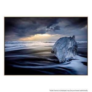 Sunrise Between Ice - Print