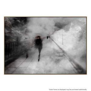 Walking Through The Fog - Print