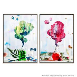 Summer Perfume (Green) | Summer Perfume (Red) - Print