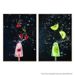 Action Cherry Popsicle | Action Kiwi Popsicle - Print
