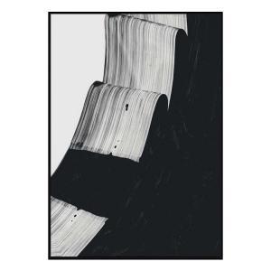 Mono Kris - Canvas Print - Black Frame - ONE ONLY
