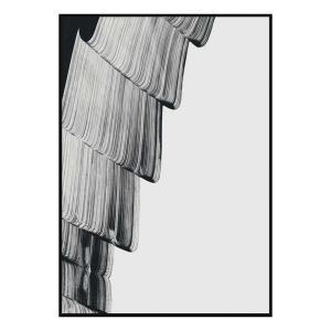 Mono Kris 2 - Canvas Print - Black Frame - ONE ONLY